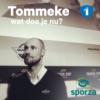 Logo du podcast Tommeke wat doe je nu?