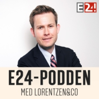 Logo of the podcast E24-podden
