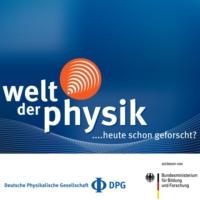 Logo of the podcast Welt der Physik - heute schon geforscht?