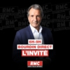 Logo of the podcast L'invité de Bourdin Direct