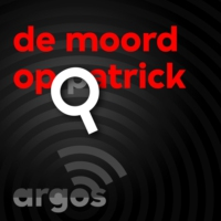 Logo of the podcast De moord op Patrick