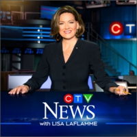 Logo of the podcast CTV National News with Lisa LaFlamme