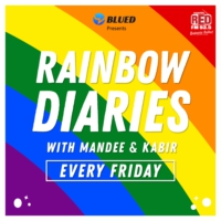 Logo of the podcast Rainbow Diaries