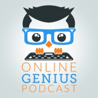Logo of the podcast Online Genius Podcast