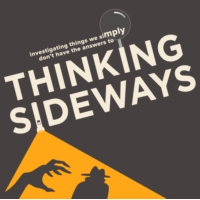 Logo of the podcast Thinking Sideways Podcast
