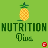 Logo of the podcast The Nutrition Diva's Quick and Dirty Tips for Eating Well and Feeling Fabulous