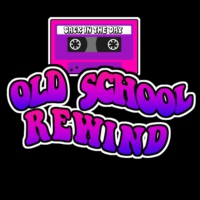 "Logo of the podcast 15 Influential Hip Hop Singles From The 80's As We ""Rewind"""