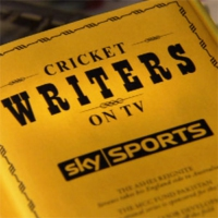 Logo of the podcast Cricket Writers On TV - August 27