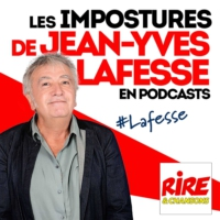 Logo du podcast On va couper l'air - Les impostures de Jean-Yves Lafesse en podcasts sur rireetchansons.fr