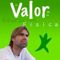 Logo of the podcast El Valor de la Educación Física