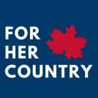 Logo of the podcast For Her Country