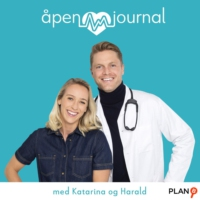 Logo du podcast Åpen journal med Katarina og Harald