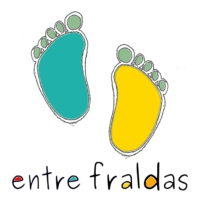 Logo of the podcast Entre Fraldas Podcast