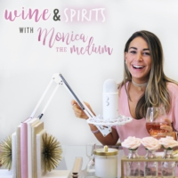 Logo du podcast Wine & Spirits with Monica the Medium