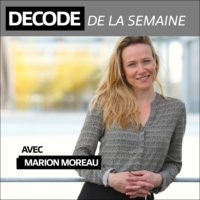 Logo of the podcast DECODE de la semaine / FrenchWeb