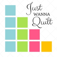 Logo of the podcast Just Wanna Quilt