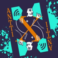 Logo of the podcast Antti X Antti - Kaksinkertainen katsaus popmusiikkiin