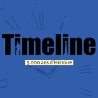 Logo of the podcast Timeline, 5.000 ans d'Histoire