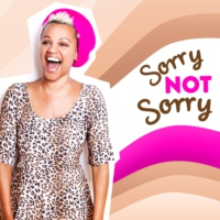 Logo du podcast Sorry, Not Sorry with Gemma Cairney and Shaun a.k.a Travel Mad Dad