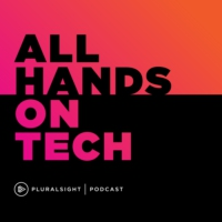Logo du podcast 038 - Technology's role in the global displacement crisis with Pietro Galli and Lindsey Kneuven