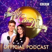 Logo of the podcast 2018: Kevin Clifton is taking priority over the Queen!