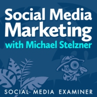 Logo of the podcast Social Media Marketing Podcast