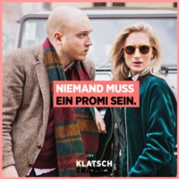 Logo of the podcast Klatsch & Tratsch – Niemand muss ein Promi sein