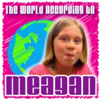 Logo du podcast 007 World According To Meagan – Siete