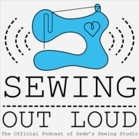 Logo of the podcast Sewing Out Loud