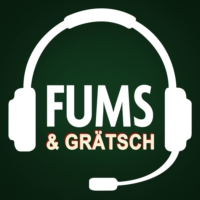 Logo of the podcast FUMS & GRÄTSCH