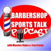 Logo of the podcast Barbershop Sports Talk Podcast
