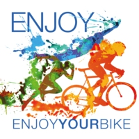 Logo du podcast ENJOYYOURBIKE - Der Radsport & Triathlon Talk