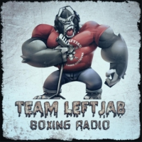 Logo of the podcast TEAM LEFTJAB UNCENSORED-MIKE SCUDIERO REVIEWS WRESTLEMANIA & TALKS MLB SEASON