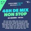 Logo of the podcast 48 H de Mix Non-Stop