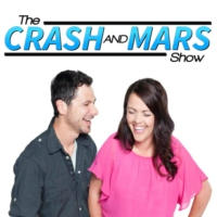 Logo of the podcast CRASH & MARS - JUNE 15