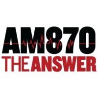 Logo de la radio KRLA AM 870 The ANSWER