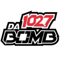Logo de la radio KDDB 102.7 Da Bomb
