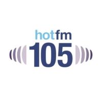 Logo de la radio Hot FM 105