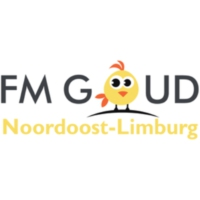 Logo of radio station FM Goud Noord-Limburg