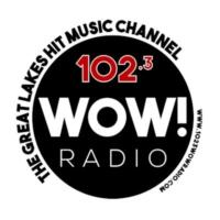 Logo de la radio 102.3 WOW! Radio