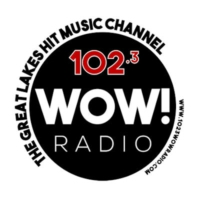 Logo of radio station 102.3 WOW! Radio