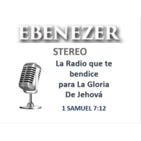 Logo of radio station EBENEZER STEREO