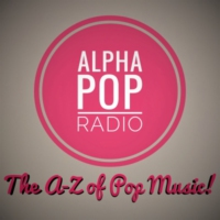 Logo of radio station AlphaPopRadio