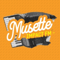 Logo of radio station Impact FM - Musette