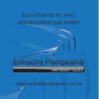 Logo de la radio Pampeana LU33 890 AM
