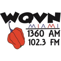 Logo of radio station WQVN Miami 1360 AM