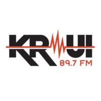 Logo de la radio KRUI 89.7 FM
