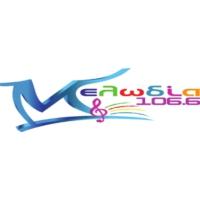 Logo de la radio Melodía 106.6 - Μελωδία 106.6
