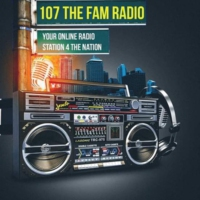 Logo of radio station 107TheFam