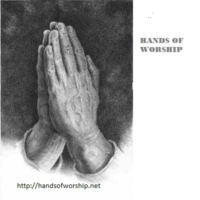 Logo of radio station Hands of Worship